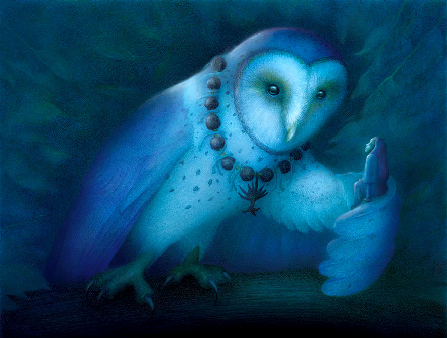 The Great Owl by Kristen Schwartz